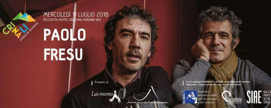 Paolo Fresu in concerto alla Rocchetta Mattei mercoledì 11 luglio 2018